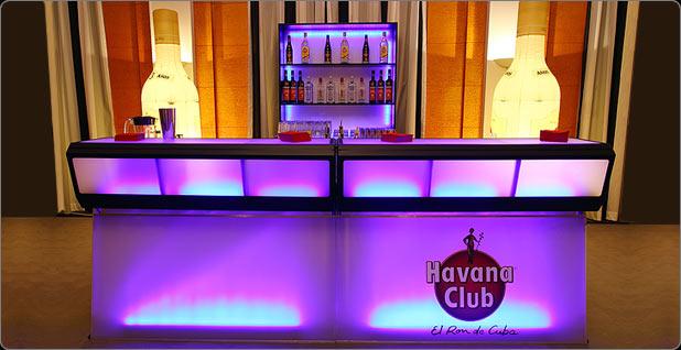 Barcraft - Exklusive, beleuchtete Bars